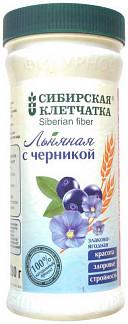 Клетчатка сибирская льняная с черникой 280г