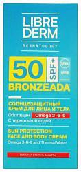 Либридерм бронзиада крем солнцезащитный с омега 3-6-9 и термальной водой spf50 150мл