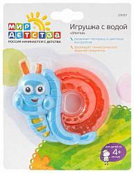 Мир детства игрушка с водой улитка 4+ арт.23037