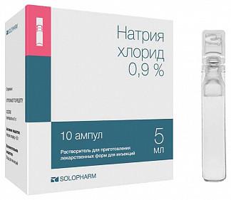 Натрия хлорид растворитель для приготовления лекарственных форм