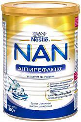 Нестле нан антирефлюкс смесь молочная 0+ 400г