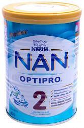 Нестле нан оптипро 2 смесь молочная 400г