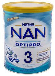 Нестле нан оптипро 3 смесь молочная 800г