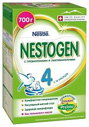 Нестожен 4 смесь молочная детская 700г
