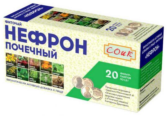 Нефрон чай почечный 20 шт. фильтр-пакет, фото №1