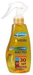 Биокрим масло солнцезащитное spf30 150мл