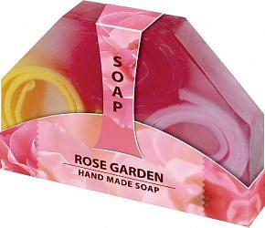 Биофреш мыло натуральное ручной работы розовый сад 80г