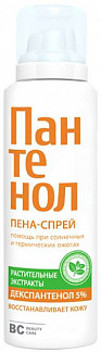 Биси пантенол крем-пена для ухода за кожей лица и тела 160мл химсинтез
