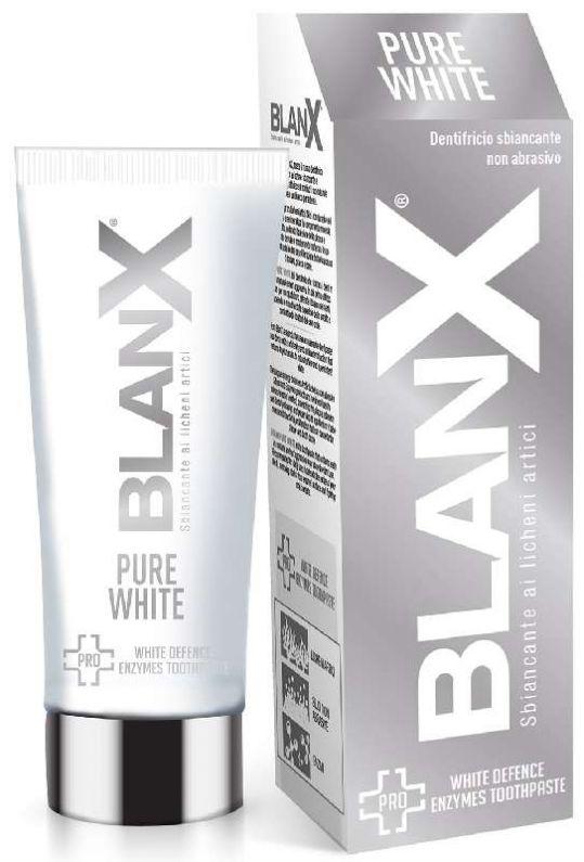 Бланкс зубная паста про чистый белый 75мл, фото №1