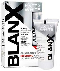 Бланкс зубная паста экстра уайт интенсивно отбеливающая 50мл