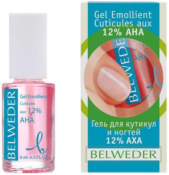 Бельведер гель для ногтей и кутикулы 12% аха-кислоты 8мл, фото №1