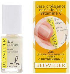 Бельведер лак для расслаивающихся ногтей с витамином с 8мл