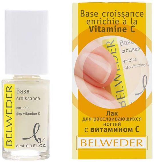 Бельведер лак для расслаивающихся ногтей с витамином с 8мл, фото №1