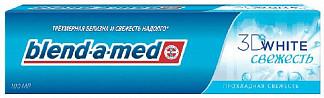 Бленд-а-мед зубная паста 3d вайт прохладная свежесть 100мл