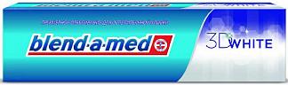 Бленд-а-мед зубная паста 3d вайт трехмерное отбеливание 100мл