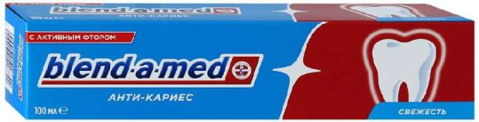 Бленд-а-мед зубная паста антикариес свежесть 100мл, фото №1