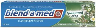 Бленд-а-мед кальций стат зубная паста травяной сбор 100мл