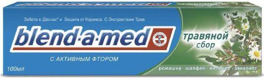 Бленд-а-мед кальций стат зубная паста травяной сбор 100мл, фото №1