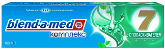 Бленд-а-мед комплекс 7 зубная паста с ополаскивателем травы 100мл
