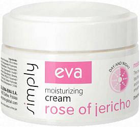 Ева симпли крем для лица увлажняющий с экстрактом иерихонской розы 50мл