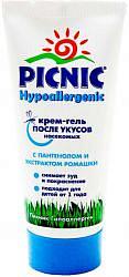 Пикник гипоаллергеник крем-гель после укусов насекомых 30мл