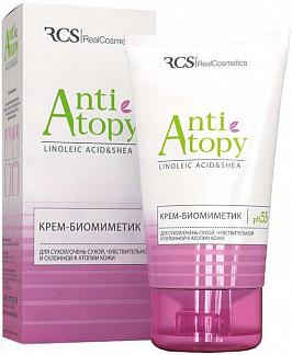 Реалкосметикс анти-атопи крем биомиметик для сухой/очень сухой/чувствительной/склонной к атопии кожи 150мл