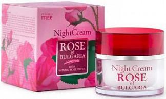 Роуз оф болгария крем для лица ночной 50мл