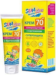 Сан марина кидс крем солнцезащитный для чувствительной кожи spf70 50мл эккола-био