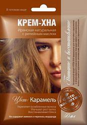 Фитокосметик крем-хна карамель с репейным маслом 50мл