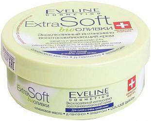 Эвелин экстра софт крем эксклюзивный интенсивно восстанавливающий био оливки 200мл