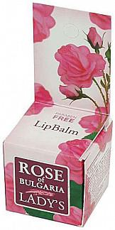 Роуз оф болгария (rose of bulgaria) бальзам для губ 5г
