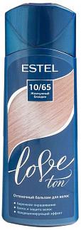 Эстель лав тон бальзам для волос оттеночный 10/65 жемчужный блондин 150мл