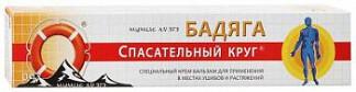 Спасательный круг крем-бальзам мумие/бадяга 50г