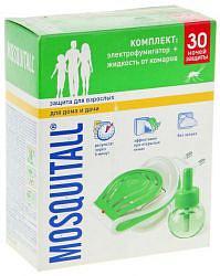 Москитол защита для взрослых прибор +жидкость 30 ночей 30мл