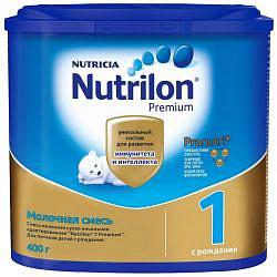 Нутриция нутрилон премиум 1 смесь молочная 400г