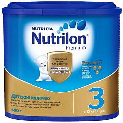 Нутриция нутрилон премиум джуниор 3 смесь молочная 400г