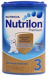 Нутриция нутрилон премиум джуниор 3 смесь молочная 800г