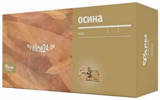 Осины кора сырье растительное 1,5г 20 шт. фильтр-пакет