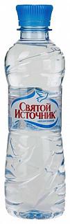 Святой источник вода питьевая без газа пэт 0,33л