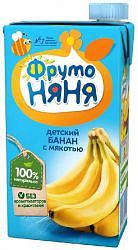 Фрутоняня нектар с мякотью банан 0,5л