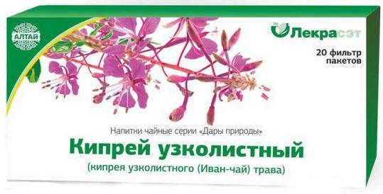 Кипрей узколистный дары природы чайный напиток 1,5г 20 шт., фото №1
