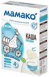 Дп мамако каша рисовая 4+