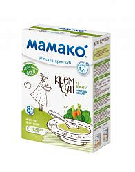Мамако крем-суп детский из шпината на козьем молочке 8+ 150г