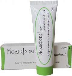 Медифокс гель педикулицидный 50г