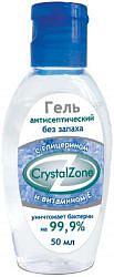 Кристал зона гель антисептический 50мл