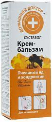 Домашний доктор крем-бальзам пчелиный яд и хондроитин 75мл