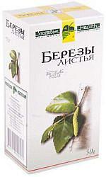 Береза листья 50г здоровье