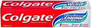 Колгейт тройное действие зубная паста 100мл
