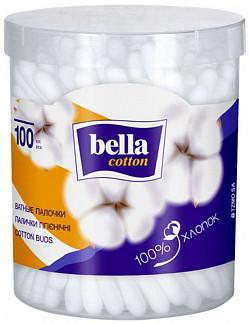 Белла коттон ватные палочки круглая упаковка 100 шт.