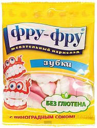 Фру-фру мармелад жевательный зубки 30г